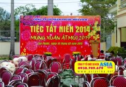 Tổ chức tiệc tất niên 2014 tại Công Ty CP Phước Hòa FICO